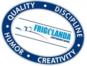 Frigolanda stempel kernwaarden UK